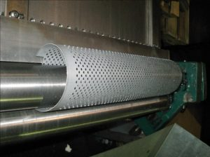 Metal Stamping of a steel component for hydraulic oil and water filter industry