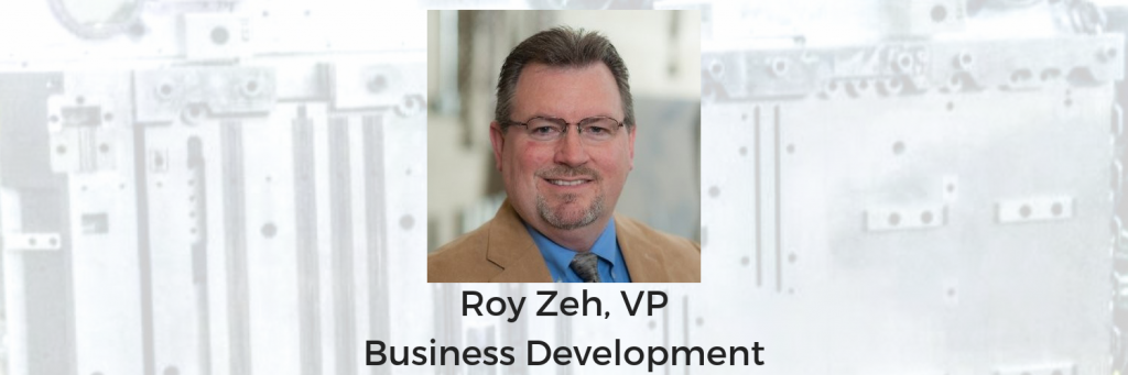Roy Zeh, VP of Business Development